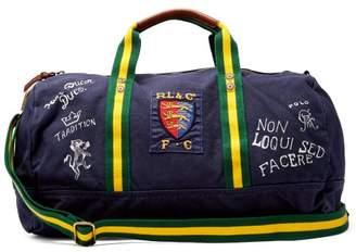 Polo Ralph Lauren Crest Cotton Canvas Weekend Bag - Mens - Navy