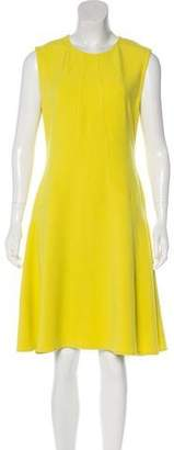 Lela Rose Sleeveless Midi Dress
