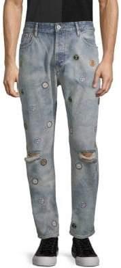Scotch & Soda Dean Patched Jeans