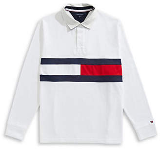 Tommy Hilfiger Jim Rugby Flag Long-Sleeve Cotton Polo