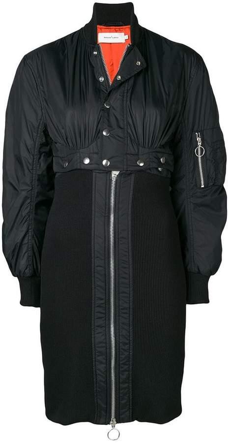 Marques'almeida zipped single-breasted coat