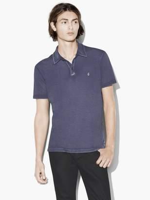 John Varvatos Soft Collar Peace Polo