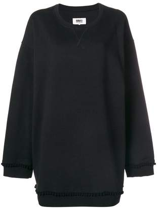MM6 MAISON MARGIELA oversized sweatshirt