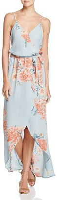 Olivaceous Maxi Wrap Dress $88 thestylecure.com