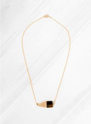 Helena Rohner Tigers Eye Square Necklace
