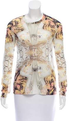 Prabal Gurung Long Sleeve Baroque Top w/ Tags