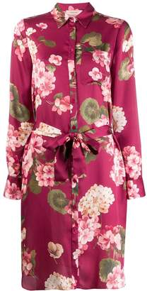 Twin-Set floral print shirt dress