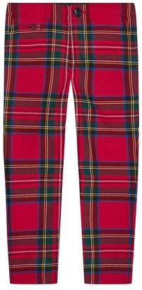Burberry Benroy Check Wool Trousers