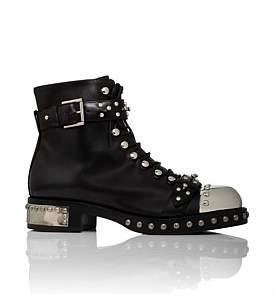 Alexander McQueen Show Boot Flat With Studs