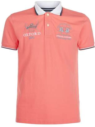 La Martina Oxford Polo Shirt