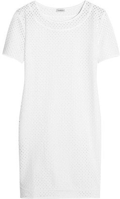 La Perla - Sweetness Broderie Anglaise Coverup - White $220 thestylecure.com