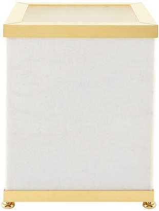 Zodiac White Marble Bin