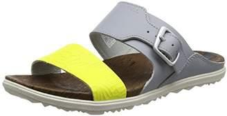 Merrell Women's Around Town Buckle Slide Print Heels Sandals,39 EU
