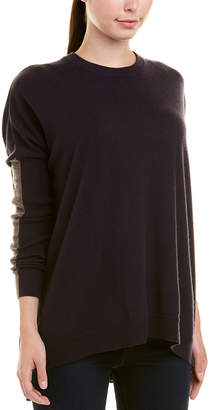 Autumn Cashmere High-Low Cashmere Sweater
