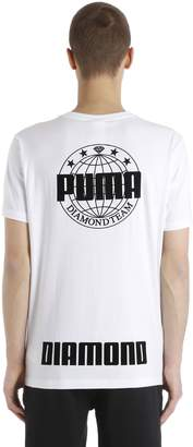 Puma Select Diamond Supply Cotton Jersey T-Shirt
