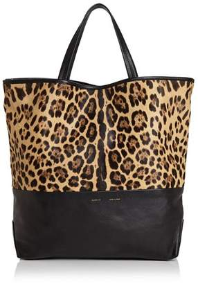 Alice.D Large Leopard-Print Fur & Leather Tote - 100% Exclusive