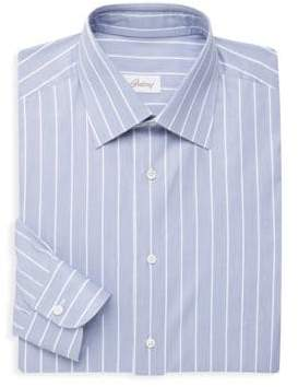 Brioni Classic-Fit Stripe Shirt