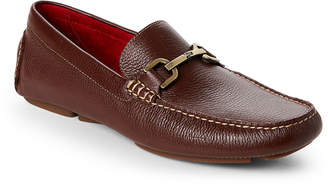 Donald J Pliner Brown Viro 2 Moc Toe Bit Drivers