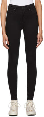 Levi's Levis Black Mile High Super Skinny Jeans