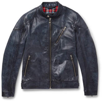Belstaff Maxford 3.0 Burnished-Leather Jacket