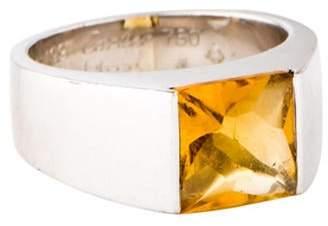 Cartier Vintage Citrine Tank Ring white Vintage Citrine Tank Ring