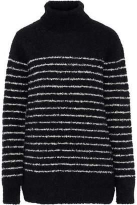 Veda Striped Alpaca-Blend Turtleneck Sweater