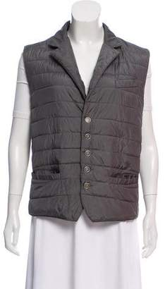 Eleventy Sleeveless Quilted Vest