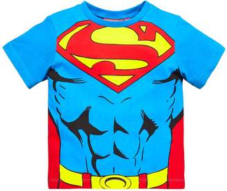 Superman Boys Cape T-shirt