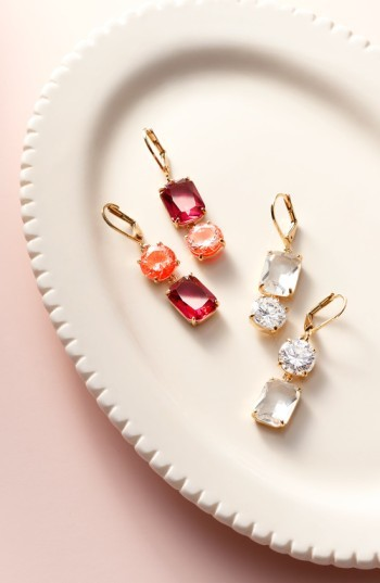 Women's Kate Spade Shine On Mismatched Drop Earrings 2