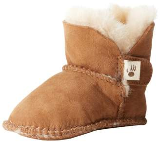 BearPaw Cottonwood Double Face Bootie (Infant)ChestnutSmall (0-6 months)