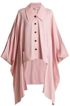 Palmer Harding Palmer//Harding Palmer//harding - Cotton And Wool Blend Cape - Womens - Pink