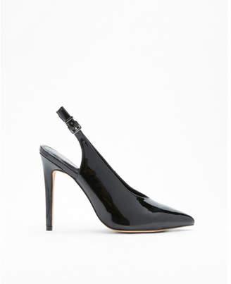 Express slingback high heel pumps