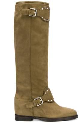 Via Roma 15 Stivali studded boots