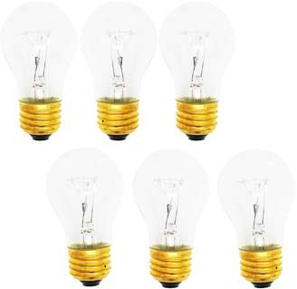 UpStart Components 6-Pack Replacement Light Bulb for General Electric TBX14SPCRWH - Compatible General Electric 8009 Light Bulb