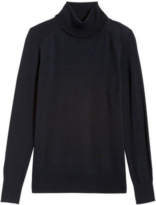 Banana Republic Washable Merino Turtleneck Sweater