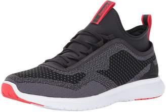 Reebok Men's Plus Runner ULTK Running Shoes, Coal/Ash Grey/Glow Red/White