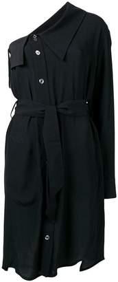 Vivienne Westwood one shoulder drench dress