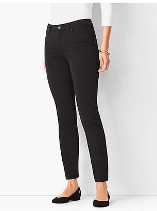 Talbots Slim Ankle Jeans - Never Fade Black