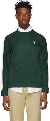 Ami Alexandre Mattiussi Green Technical Sweatshirt