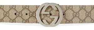 Gucci Reversible Interlocking GG Supreme Belt