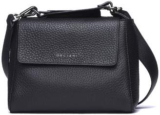 Orciani Sveva Small Leather Handbag