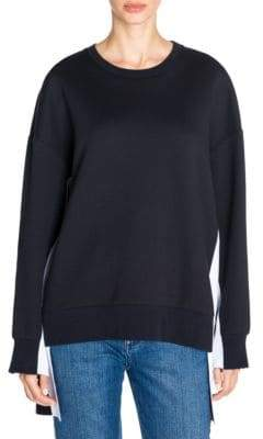 Stella McCartney Logo Insert Crewneck Sweatshirt