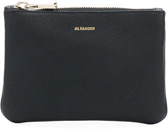 Jil Sander pouch clutch bag