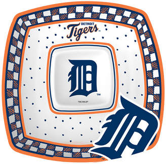 Memory Company Detroit Tigers Gameday Ceramic Chip & Dip Plate