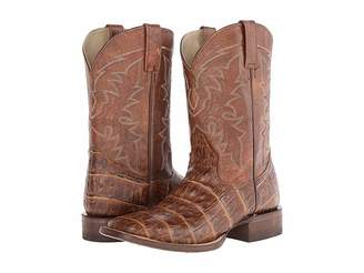 Roper Embossed Exotic Square Toe Boot Cowboy Boots