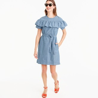 Edie dress in chambray $98 thestylecure.com
