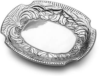 Wilton Armetale Acanthus Large Oval Tray