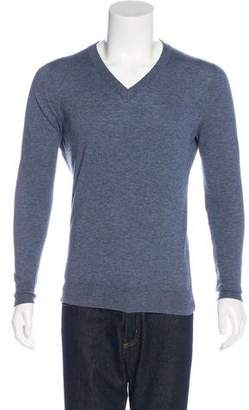 Maison Margiela Knit V-Neck Sweater