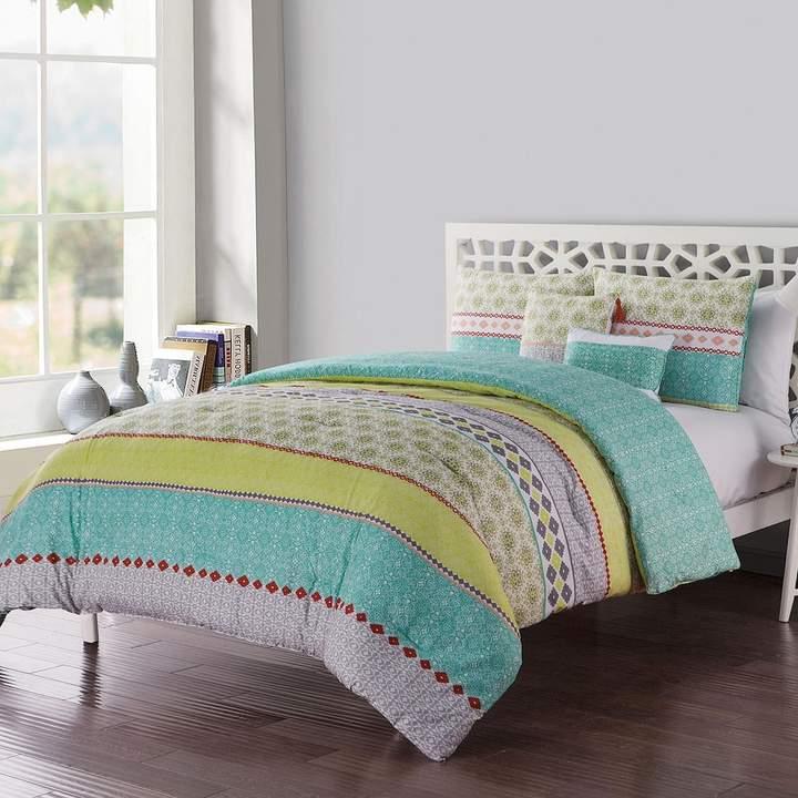 Vcny VCNY Dharma Embellished Comforter Set