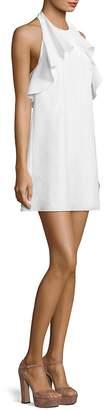 Alice + Olivia Women's Gwenie Ruffled Cotton Dress